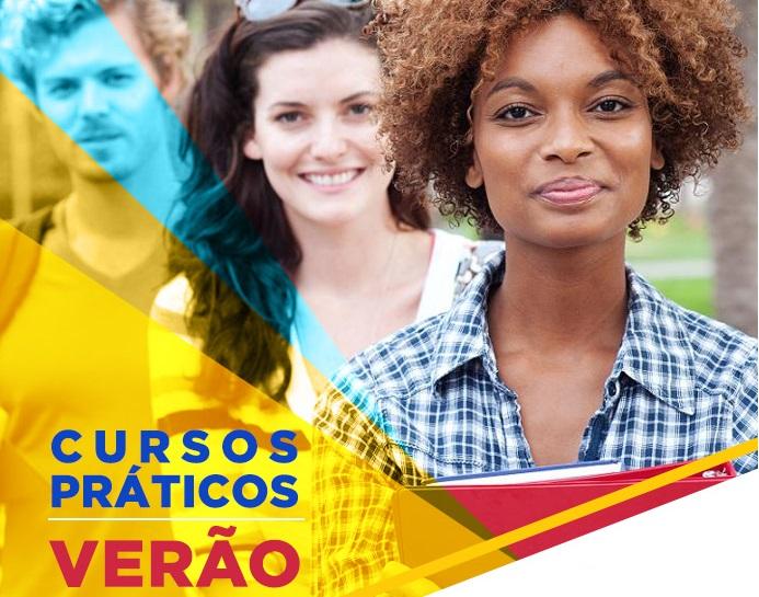 INSCRIÇÕES ABERTAS PARA OS CURSOS PRÁTICOS DE VERÃO