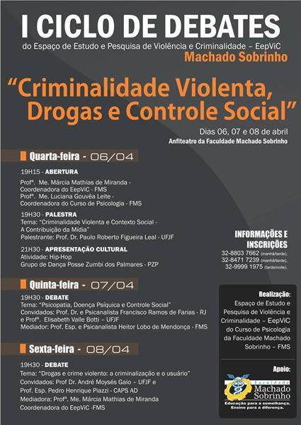 I CICLO DE DEBATES REALIZADO EM 2011 PELO EEPVIC
