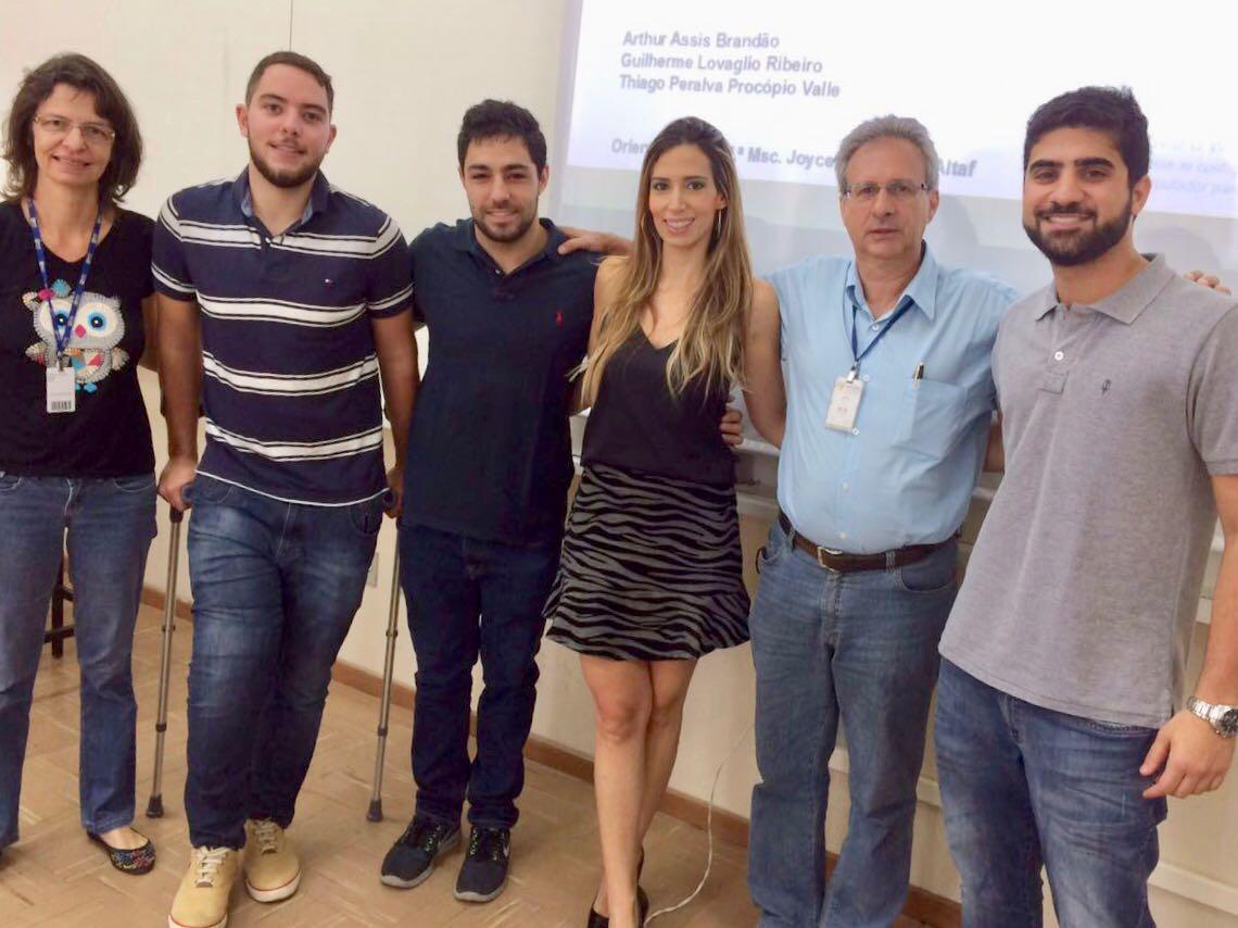 PROFESSORES E ALUNOS DE ENGENHARIA APROVAM ARTIGO CIENTÍFICO NO CASI